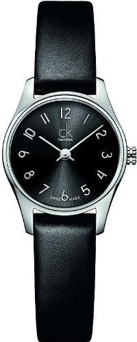 Women'S Black Calvin Klein Ck Classic Dress Watch K4D231Cx
