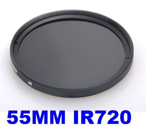 55MM Infrared Filter - IR720 - for Kodak, Fuji, Sony, Canon, Nikon + MORE!