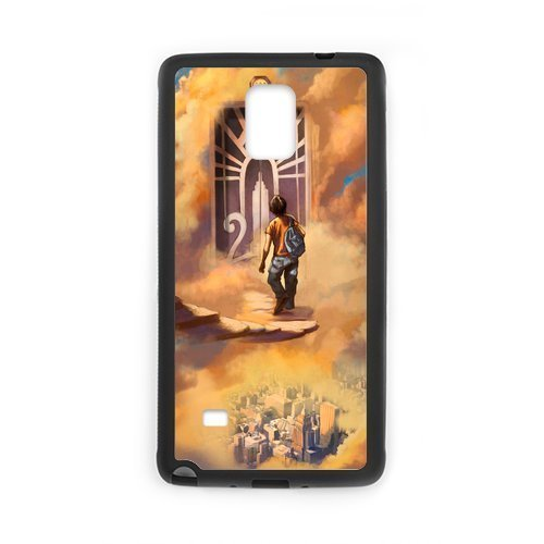 2015 New Popular Novel Percy Jackson Cool Pictures Design Hard Protective Back Cover Shell for SamSung Galaxy Note4 Phone (Chucky Doll For Sale Cheap)