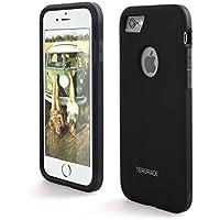 Tiergrade Premium Dual Layer Hybrid TPU PC Phone Case for iphone 7 (Black)