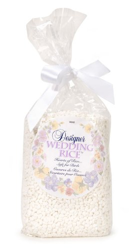 Darice 1403-91, Designer Wedding Rice Makes 100-Favors