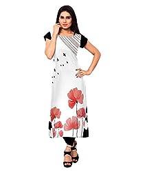 Shivam Women's Crepe Kurti (VT138_Multi-Coloured_36)