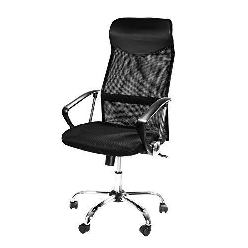 Design-Brostuhl-mit-Kopfsttze-Netzrcken-Wippfunktion-Armlehne-ergonomisch-hhenverstellbar-schwarz