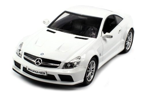 Licensed Mercedes-Benz Sl65 Amg Electric Rc Car 1:18 Dx Rtr (Colors May Vary) Authentic Body Styling