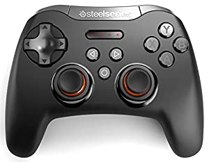 SteelSeries Stratus XL, Bluetooth Wireless Gaming Controller for Windows + Android, Samsung Gear VR, HTC Vive, and Oculus