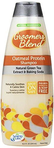 SynergyLabs Groomer's Blend Oatmeal Protein Shampoo; 18.4 fl. oz.