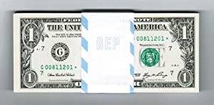 $1 Star Note FRN Series 2006 Chicago Illinois! $1 Dollar Bill! Collectible