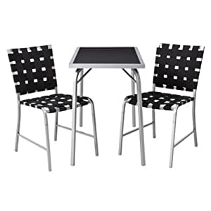 Room essentials 3 piece dining set 2 chairs for Dining room essentials