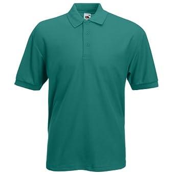Fruit of the Loom - Sweat-shirt -  Homme -  Vert - Eméraude - XXL