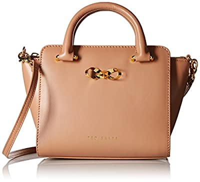 Ted Baker Mini Tote with Bow Top-Handle Bag