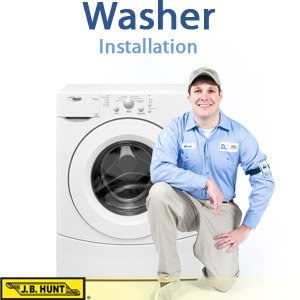 Installation of Washer - Includes Parts and Haul-Away (For Washers Sold by Third-Party Merchants)