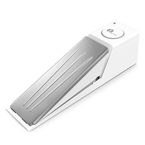 1byone Door Stopper Alarm with Built-in Alert System, DIY Home Security, Door Sensor with Transmission Function, Works with all other 1byone alarm systems (Shower Glass Door Stopper compare prices)