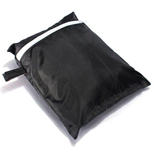 XCSOURCE Housses pour barbecue étanche anti UV barbecue couverture extérieure pluie gaz Gril Protector noir OS436
