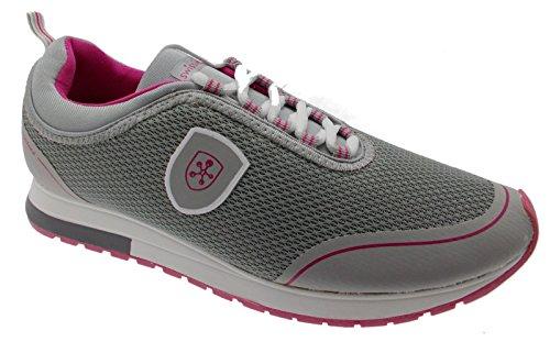 Swissies Donna Sneakers, 4/192, GIADA, Grigio, 40