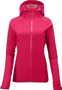 (2.6折)萨洛蒙Salomon美女顶级2.5层爽肤防水冲锋衣Montroc Jacket粉红$35.93