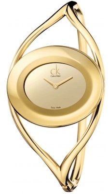 CALVIN KLEIN WATCH K1A23909 DELIGHT GOLD
