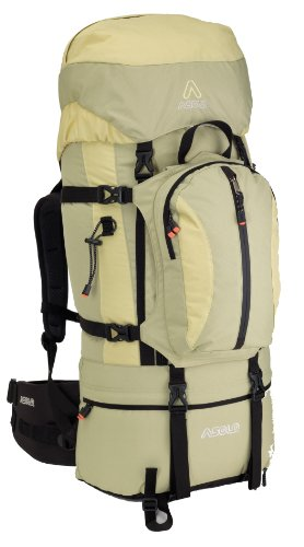 Asolo Women's Encounter Elle 50-Liter Specific Backpack (Sage/Wheat, Large)