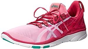 ASICS Women's GEL-Fit Sana Cross-Training Shoe, Petal Pink/White/Fuchsia, 5 M US