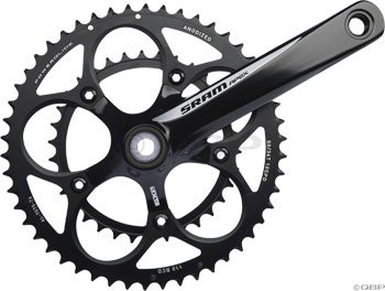 SRAM GXP 170mm 50-34T White Apex Compact Crankset with BB