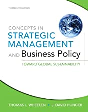 Concepts in Strategic Management and Business Policy by Thomas L. Wheelen