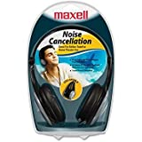 Maxell HP/NC-III Foldable Lightweight Noise Cancellation Headphones