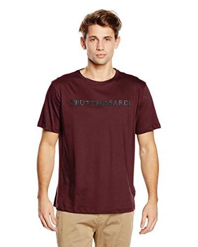 Tru Trussardi T-Shirt Manica Corta Jersey [Blu]