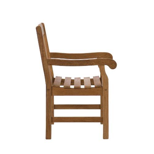SEI Arm Chair, Light Brown CR5603,