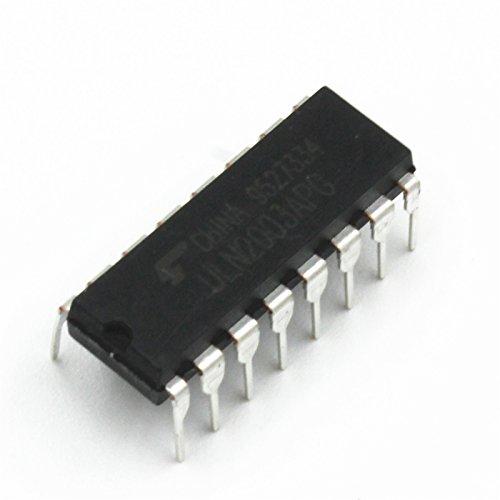 10 Pieces ULN2003 High-voltage High-current Darlington Transistor Array DIP16
