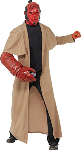 Mens  (Hellboy Halloween Costumes)