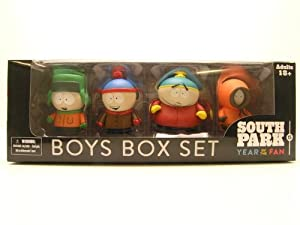 mezco toyz south park boys box set toys games. Black Bedroom Furniture Sets. Home Design Ideas