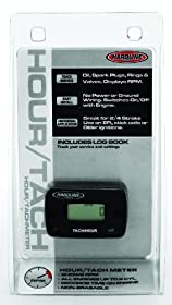 Hardline Products HR-8061-2 Hour Meter/Tachometer for 2-Cylinder Engines