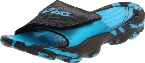 ASICS Men's Iyashi Slide Sandal,Electric Blue/Black,9 M US