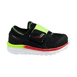 Saucony Boys Baby Kineta ALT Closure Sneaker (Toddler), Black/Citron, 6.5 W US Toddler