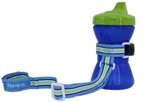 BooginHead SippiGrip, Blue/Green/White