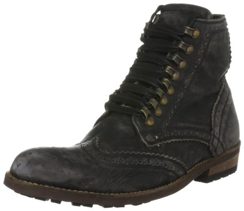 Feud Britannia Men's Grenadine Black Lace Up 302845141 10 UK