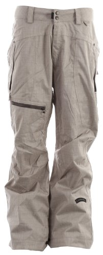 Cappel Calling Snowboard Pants British Khaki Chambray Mens Sz S