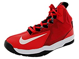 Nike Kids Air Max Stutter Step 2 (GS) Unvrsty Red/White/Blk/Cl Gry Basketball Shoe 6 Kids US