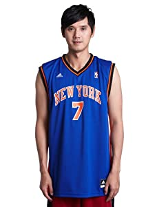 NBA adidas Carmelo Anthony New York Knicks Revolution 30 Performance Jersey - Royal... by adidas