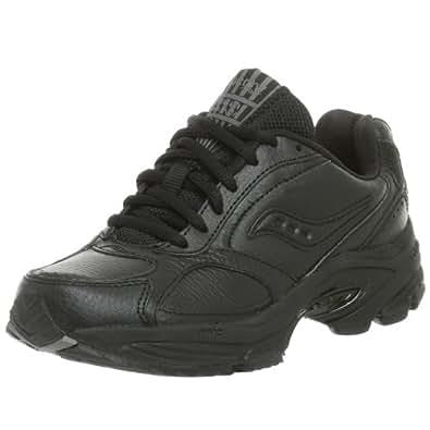 Saucony Women's Grid Omni Walker Walking Shoe,Black,5 N