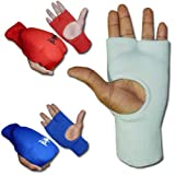 Aasta Karate , MMA Elasitcated Mitt (Medium, Blue)