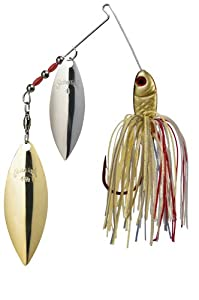 Strike King Bleeding Spinnerbait - Willow/Willow by Strike King Lure Company