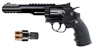 Smith & Wesson 327 TRR8 CO2 BB Revolver, Black by Smith & Wesson
