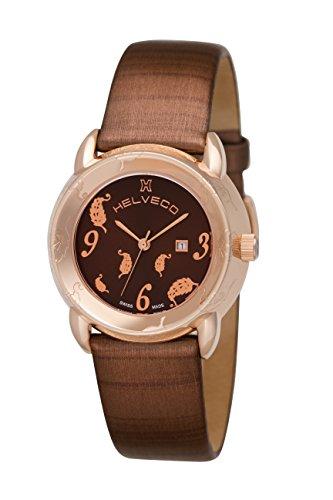 Helveco H19140_MA - Reloj  color marrón