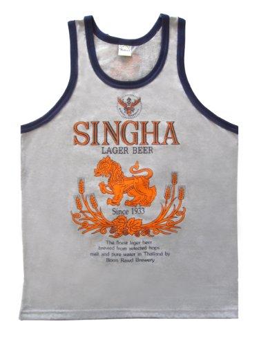 beautiful-beer-singha-t-shirt-vest-tank-top-for-men-cotton-size-l-gray-color
