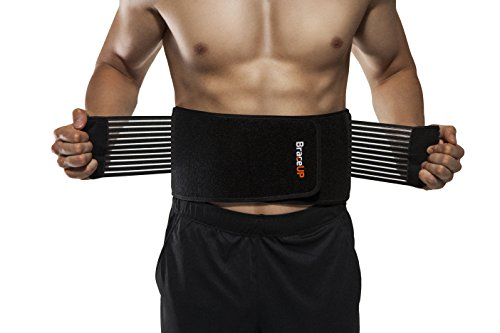 BraceUP-Stabilizing-Lumbar-Lower-Back-Brace-and-Support-Belt-with-Dual-Adjustable-Straps-and-Breathable-Mesh-Panels