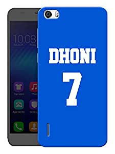 """Humor Gang Indian Captain Printed Designer Mobile Back Cover For """"Huawei Honor 6"""" (3D, Matte, Premium Quality Snap On Case)"""