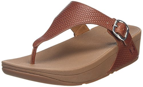 FitflopThe Skinny - Sandali a Punta Aperta donna , marrone (Brown (Dark Tan)), 39