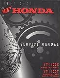 1997-2003 HONDA MOTORCYCLE SHADOW SPIRIT,1100 A.C.E. TOURER SERVICE MANUAL (055)