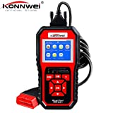 DAVITU US Warehouse Code Readers & Scan Tools - OBD 2 Automotive Scanner KONNWEI KW850 Enhanced OBD2 Scanner Scaner Automotriz Diagnosis Car Scanner Tool OBD Scanner PK NT301 - (Color: KONNWEI 850) (Color: KONNWEI 850)