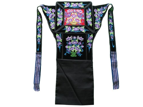 Genuine Mei Tai Baby Carrier 100% Handmade Art Front Back Sling Wrap Podaegi #153 - Free Shipping